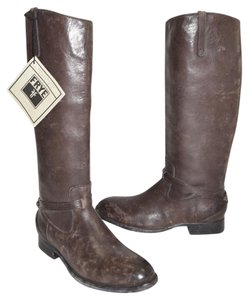 Frye Ridiing BROWN STONE WASH Boots