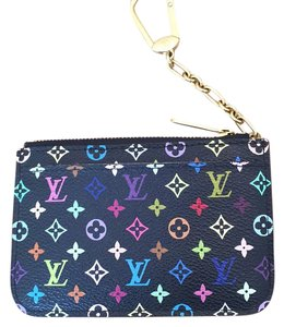 Louis Vuitton LV multicolor key cles
