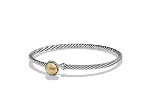 David Yurman Chatelaine Bracelet with 18K Gold