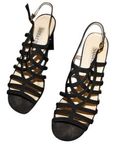 Sam & Libby Gladiator Black Sandals