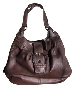 Coach Tote in Coffee Brown