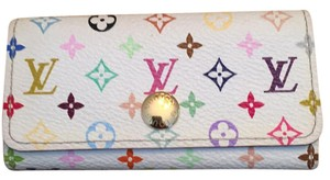 Louis Vuitton LV multicolor key holder