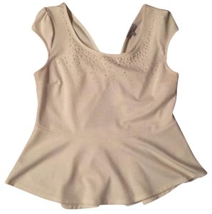 Charlotte Russe Top ivory