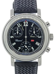 Chopard MINT Ladies Chopard Mille Miglia Chronograph Rubber Steel Watch