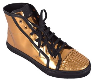Gucci Sneakers Sneakers High Top Trainers Gold Athletic