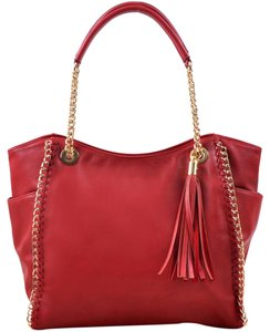 Other Classic The Treasured Hippie Large Handbags Vintage Tote in Red