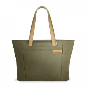 Briggs & Riley Travel Business Laptop Tote in Olive