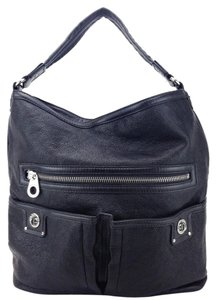 Marc by Marc Jacobs Totally Faridah Leather Turn Lock Hobo Bag
