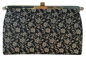 L and M Bags By Edwards Navy Clutch