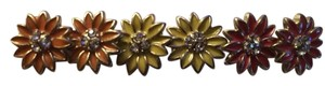 Claire's Western Style Daisy Colorful Trio of Earrings