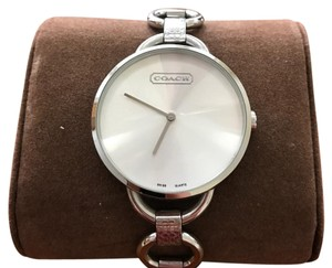 Coach Coach Monogram Stainless Steel Watch