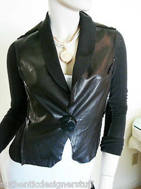 BROGDEN Leather Womens Leather Leather Brown Jacket