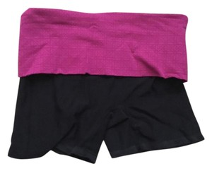 Champion Black and Pink Spandex Shorts