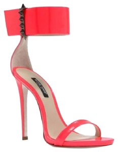 Ruthie Davis Heels High Flourescent Hot Sexy watermelon flourescent Sandals