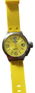 TW Steel TW STEEL Canteen Yellow Dial Silicone Watch