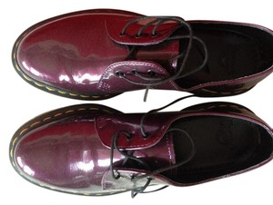 Dr. Martens Shiny Dark Purple Boots