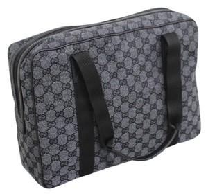 Gucci Charcoal Laptop Bag