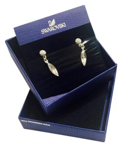 Swarovski Swarovski Authentic Silver & Crystal Earrings