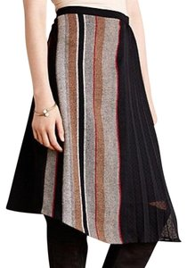 Anthropologie Skirt Black & Brown