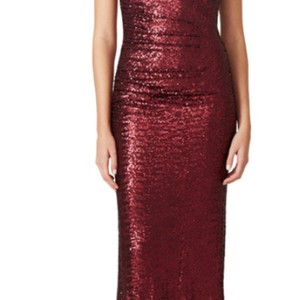 Badgley Mischka Bordeaux Gorgeous Bordeaux Gown Dress
