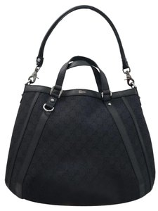 Gucci Abbey Gg Convertible D Ring Hobo Bag