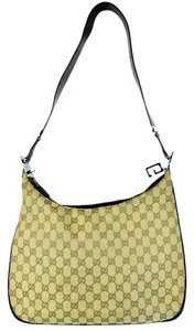 Gucci Hobo Fabric Gg Canvas Shoulder Bag