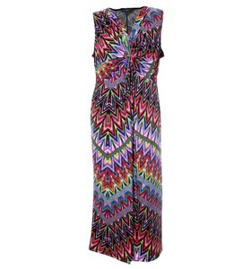 Multi Color Maxi Dress by NY Collection