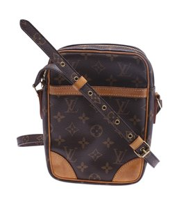 Louis Vuitton Coated Canvas Leather Cross Body Bag
