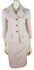 Etcetera Etcetera Pink skirt suit size 6 blazer and size 4 skirt