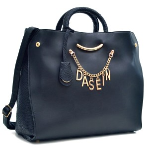 Classic Large Tote in Black