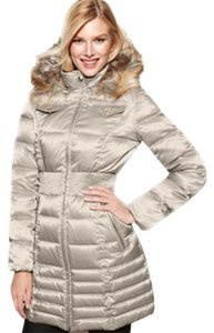 Laundry by Shelli Segal Faux Fur Quilting Coat