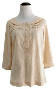 Banana Republic Houndstooth Top