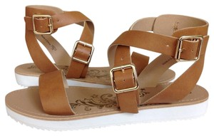 Brash Tan Sandals