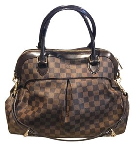 Louis Vuitton Damier Ebene Trevi Satchel in Brown