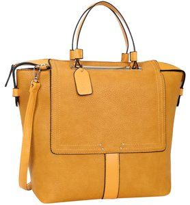 Other Classic School The Treasured Hippie Large Handbags Vintage Tote in Yellow