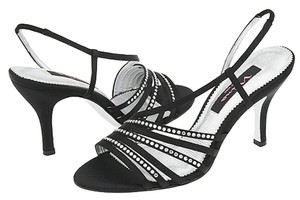Nina Shoes Date Night Prom Party Black / silver Formal