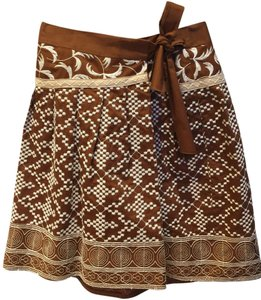 Nanette Lepore Skirt Brown