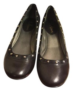 Cole Haan Black/Silver Flats