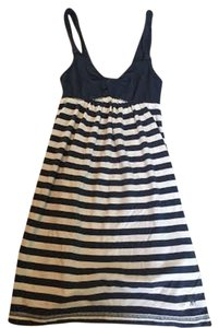 Abercrombie & Fitch short dress Navy and White Blue Stripes Kids on Tradesy