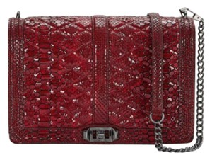 Rebecca Minkoff Leather Red Cross Body Bag