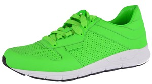 Gucci Men's Trainers Sneakers Neon Green Athletic