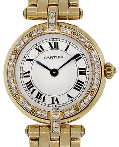 Cartier Cartier 18k Yellow Gold Diamond Ladies Panthere Vendome Cougar Watch