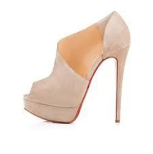 Christian Louboutin light beige Pumps