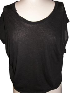 Free People Xsmall T Shirt Black #0010