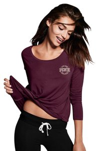 Pink Victoria Secret burgandy top Top burgandy