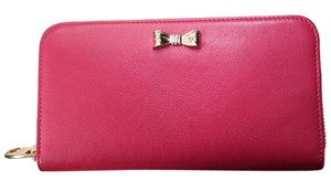 RED Valentino Fuchsia Pink Clutch