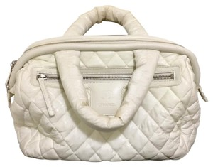 Chanel Tote in blanc/ white