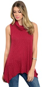 Other - Brand New Unworn - Made in USA Sleeveless Cowneck Tunic