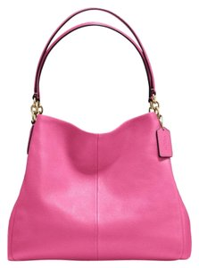 Coach Pebbled Leather Leather Slouchy Soft Leather Classic Shoulder Bag