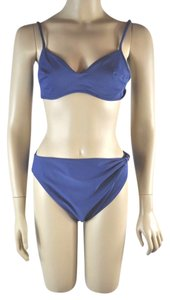 La Perla La Perla Blue Embellished with Beading Two Piece Bikini Swimsuit